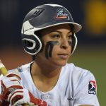 Sierra Romero up for bat